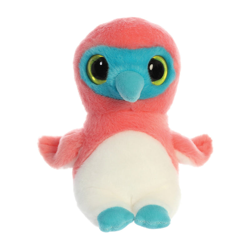 Bleu the blue-Footed Sula from the YooHoo collection soft toy – 8 inches - Aurora World LTD