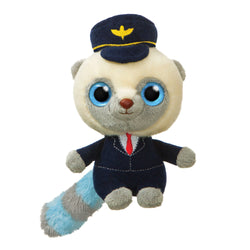 Pilot soft toy teddy