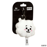 BT21, RJ Plush Key Clip, 4In - Aurora World LTD