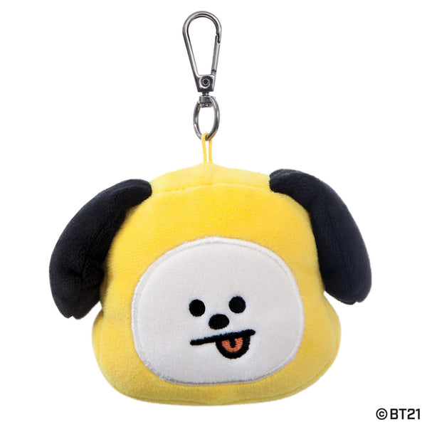 BT21, CHIMMY Plush Key Clip, 4In - Aurora World LTD