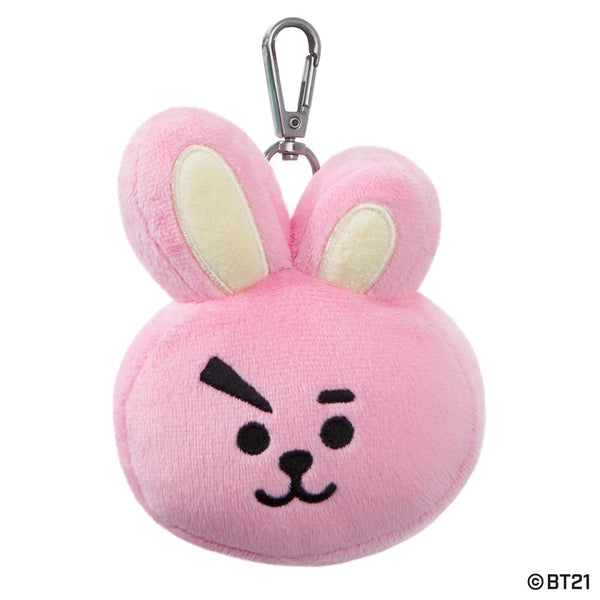 BT21, COOKY Plush Key Clip, 4.5In - Aurora World LTD
