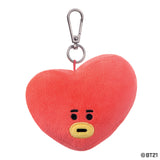 BT21, TATA Plush Key Clip, 4In - Aurora World LTD