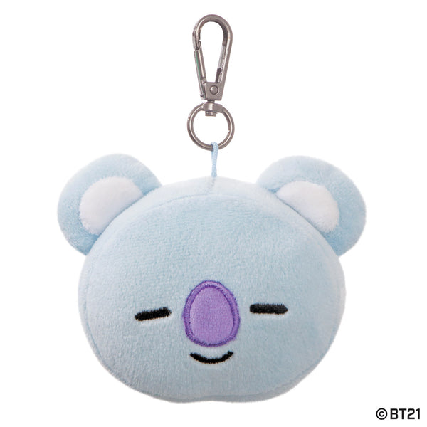 BT21, KOYA Plush Key Clip, 3.5In - Aurora World LTD