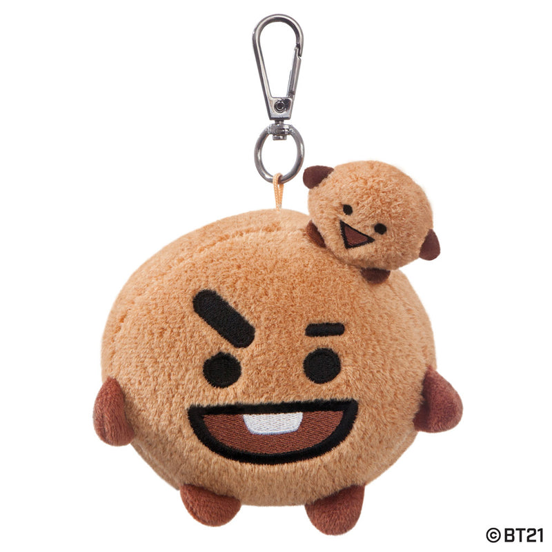 BT21, SHOOKY Plush Key Clip, 4In - Aurora World LTD