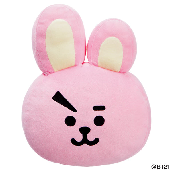 BT21, COOKY Plush Cushion, 14In - Aurora World LTD