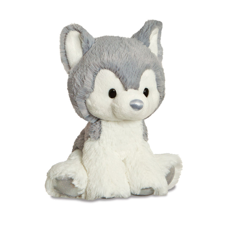 Glitzy Tots Husky Dog Soft Toy - Aurora World LTD