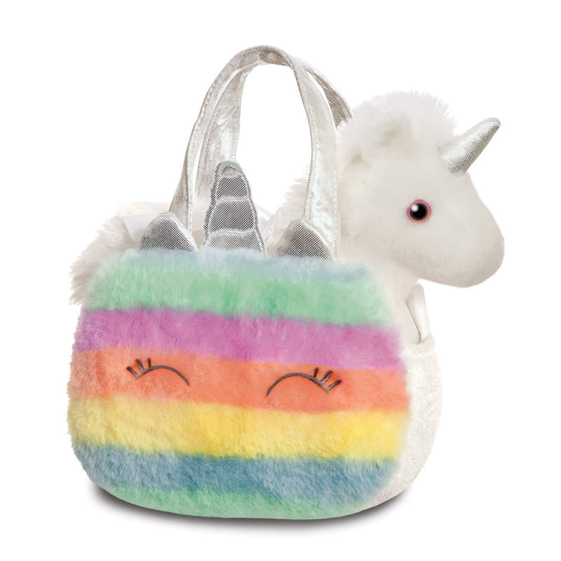 Fancy Pal Rainbow Unicorn, 8In - Aurora World LTD