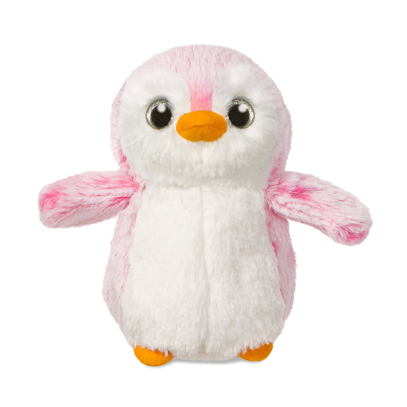 Pink PomPom Penguin soft toy - Aurora World LTD
