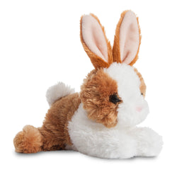 Mini Flopsie - Bunny Brown/White 8In