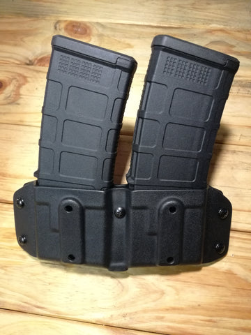 Double AR15 mag carrier