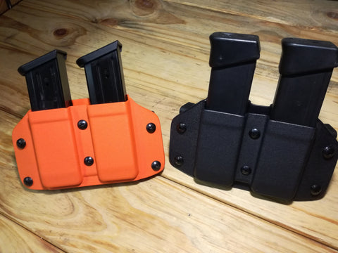 Double pistol mag carrier (EDC cut)