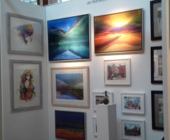 Primavera stand at the Cambridge Art Fair