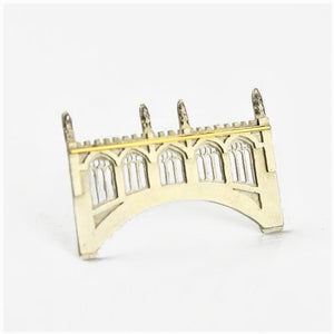 Ambery-Smith, Vicki – Silver and Gold Brooch, Bridge of Sighs | Vicki Ambery-Smith | Primavera Gallery
