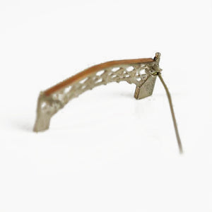 Ambery-Smith, Vicki – Silver and Gold Brooch, Mathematical Bridge | Vicki Ambery-Smith | Primavera Gallery