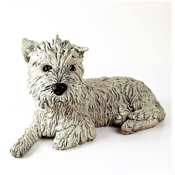 Guest, Adrian – West Highland White Terrier Sculpture | Adrian Guest | Primavera Gallery