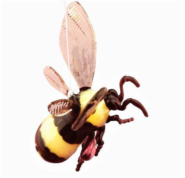Welch, Elizabeth – Pyrex Glass Bee Hanging