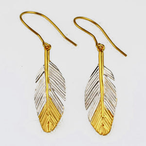 Faulkner-Dunkley, Karen – Two Tone Drop Earrings | Karen Faulkner-Dunkley | Primavera Gallery
