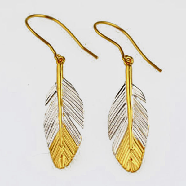 Faulkner-Dunkley, Karen – Two Tone Drop Earrings | Karen Faulkner - Dunkley | Primavera Gallery