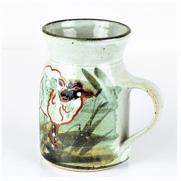 Kellam, Colin – Large Hand Painted Mug with Sheep Design