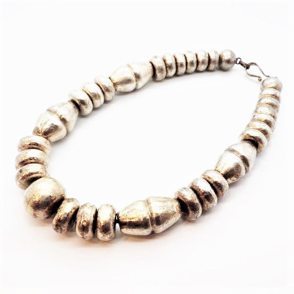 Royle, Guy – Necklace with Silver Beads | Guy Royle | Primavera Gallery