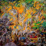 Hollingshead, Josh – Rainforest Fire | Josh Hollingshead | Primavera Gallery