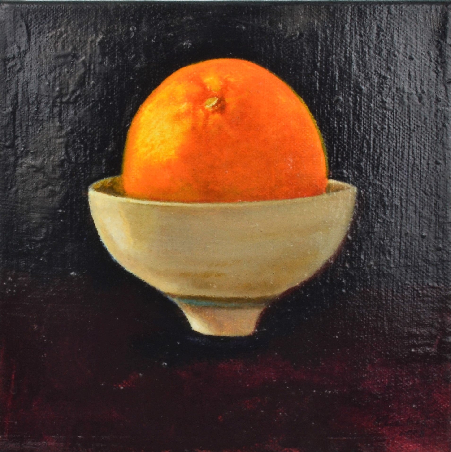 Kuehne, Judith – Orange on Will's Bowl | Judith Kuehne | Primavera Gallery