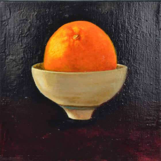 Orange on Will's Bowl | Judith Kuehne | Primavera Gallery