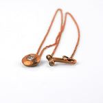 Betts, Malcolm – Rose Gold and Cushion-Cut Diamond Necklace | Malcolm Betts | Primavera Gallery