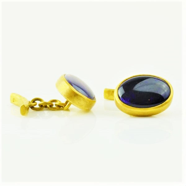 Betts, Malcolm – Gold Opal Cufflinks | Malcolm Betts | Primavera Gallery