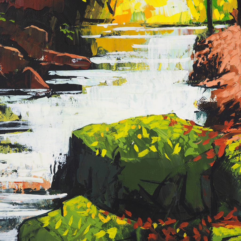 Wood, Terry – Waterfall Painting