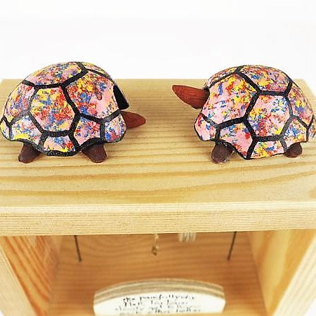 Hardy, Neil – The Painfully Shy Pink Tortoises | Neil Hardy | Primavera Gallery