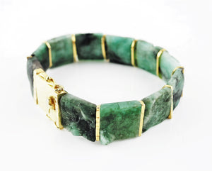 Smith, Rebecca – Emerald Tab Bracelet | Rebecca Smith | Primavera Gallery