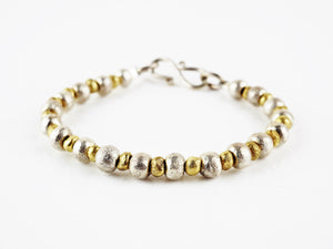 Gold and Silver Bracelet | Rebecca Smith | Primavera Gallery