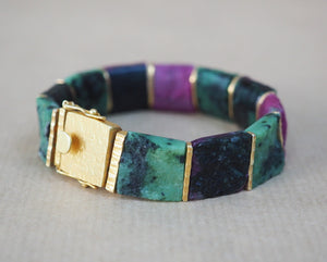Smith, Rebecca – Ruby Zoisite Bracelet