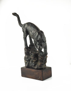 Cooke, David - Bronze Panther | David Cooke | Primavera Gallery