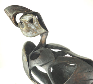 Cooke, David - Bronze Puffin | David Cooke | Primavera Gallery
