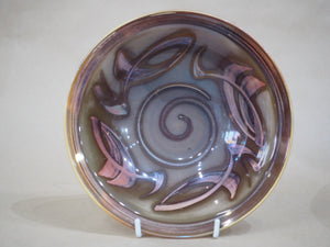 Caiger-Smith, Nick – Brown Glazed Lustreware Bowl