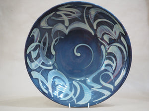 Caiger-Smith, Nick – Large Blue Lustreware Bowl