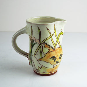 Hale, Jennie – Decorated Earthenware Jug | Jennie Hale | Primavera Gallery