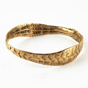 Turtill, Jenny - Brass Bangle | Jenny Turtill | Primavera Gallery