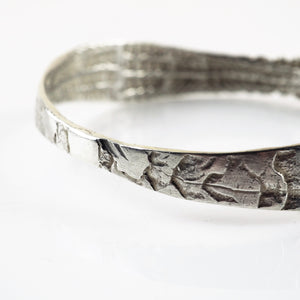 Turtill, Jenny - Silver Bangle | Jenny Turtill | Primavera Gallery
