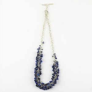 Allsopp, Disa - Beaded Silver Necklace | Disa Allsopp | Primavera Gallery