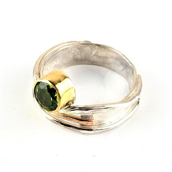 Hanl, Susanna – Silver and Gold Ring | Susanna Hanl | Primavera Gallery