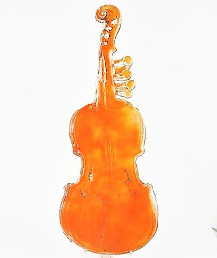 Brisbane, Amanda – Glass Violin Sculpture | Amanda Brisbane | Primavera Gallery