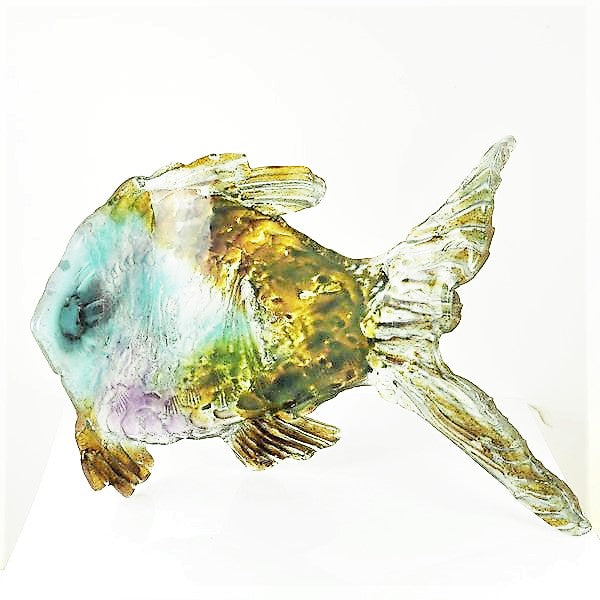 Brisbane, Amanda – Large Glass Fish Sculpture | Amanda Brisbane | Primavera Gallery