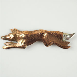 Van Dop, CJ – Fox Brooch | CJ van Dop | Primavera Gallery