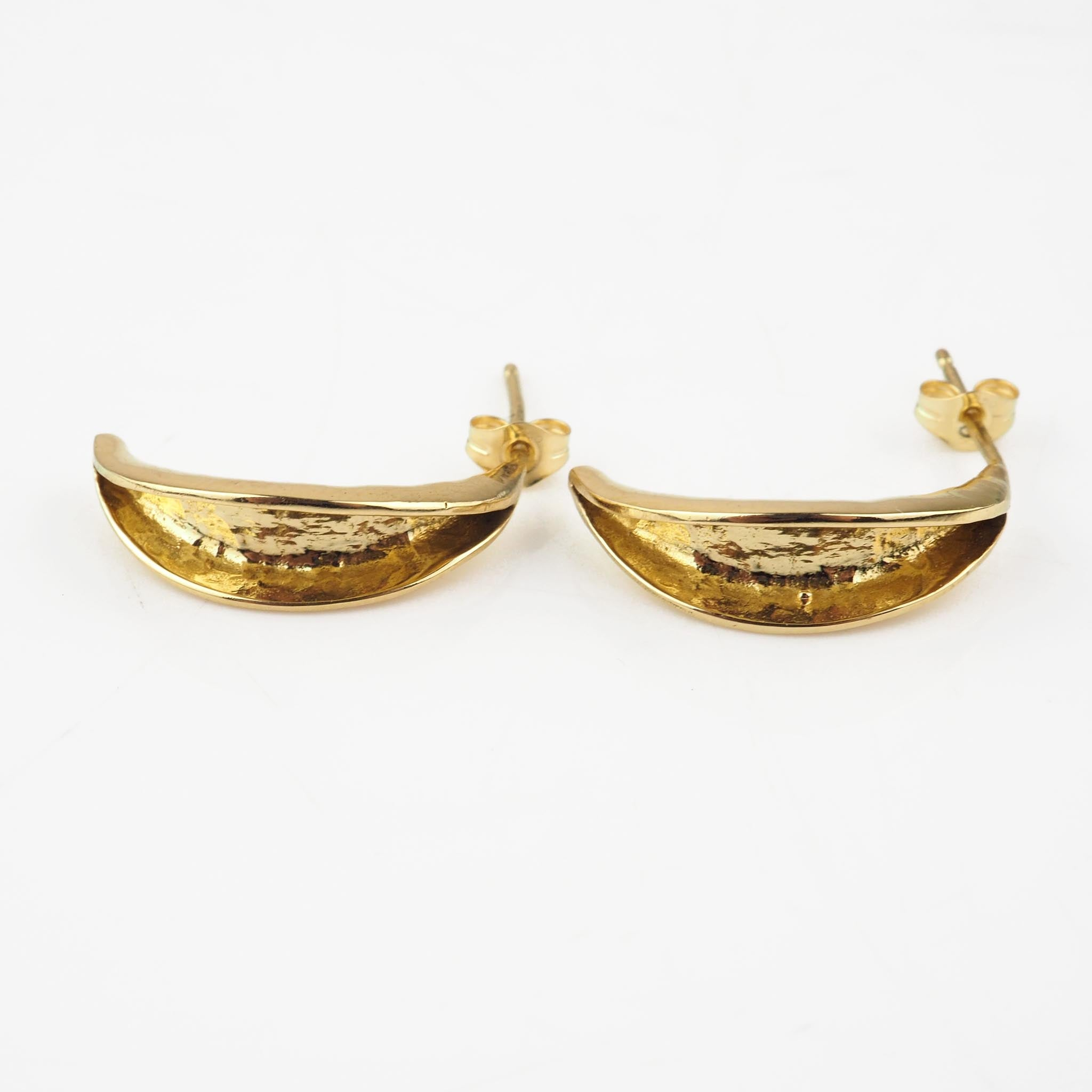 Troughton, Claire – Gold Earrings | Claire Troughton | Primavera Gallery