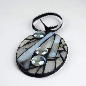 Hall, Kay – Silver/Grey Glass Hanging | Kay Hall | Primavera Gallery
