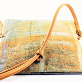 Clay, Liz – Blue and Beige Bag | Liz Clay | Primavera Gallery