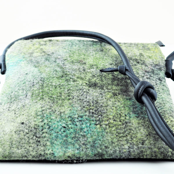 Clay, Liz – Navy and Turquoise Bag | Liz Clay | Primavera Gallery